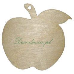 Wycinanki laserowe ze sklejki Jabłko.
