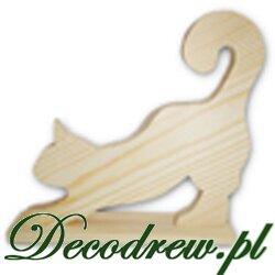 Kot drewniany mini