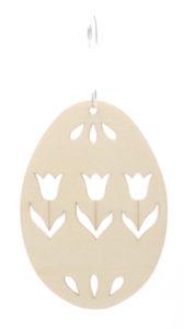 Wycinanki laserowe ze sklejki jajka Wielkanocne pisanki zawieszki. Ozdoby drewniane surowe do ozdabiania Decoupage