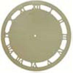 Wycinanka laserowa tarcza zegara z cyframi rzymskimi