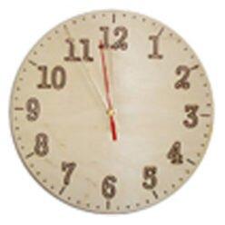 Tarcza zegarowa z nacinanymi laserowo cyframi