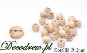Sprzedaż produkcja drewniane koraliki hurt 12mm