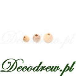 Bardzo małe koraliki drewniane do ozdabiana, koraliki na różańce.