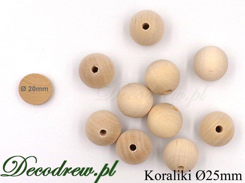 korale drewniane hurtownia