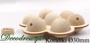 Producent koraliki drewniane kolorowe są również dostępne ale tylko na specjalne zamówienie.