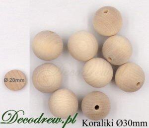 korale drewniane producent