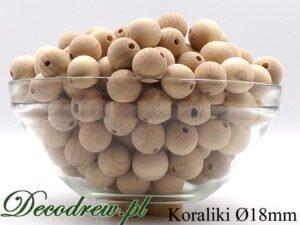 18mm korale drewniane producent, ozdobna misa z kulkami drewnianymi.