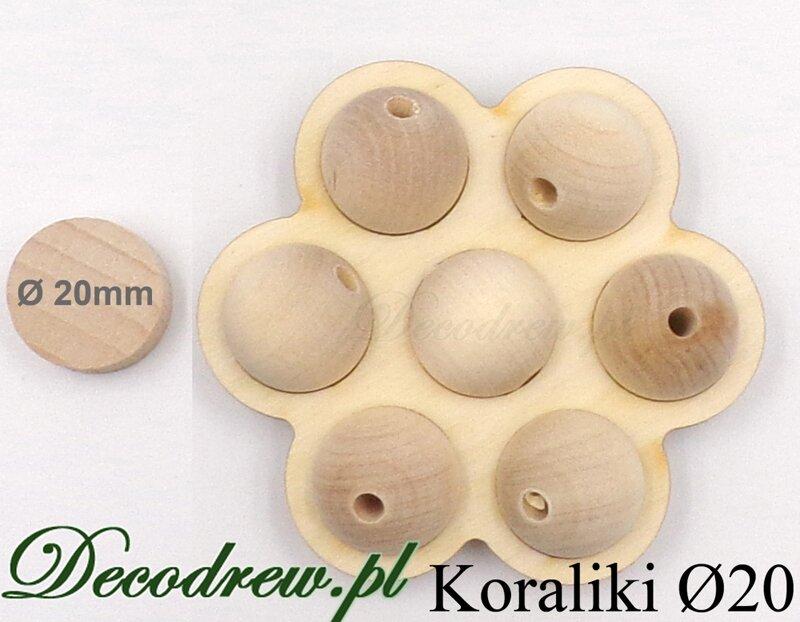 drewniane kulki zapachowe