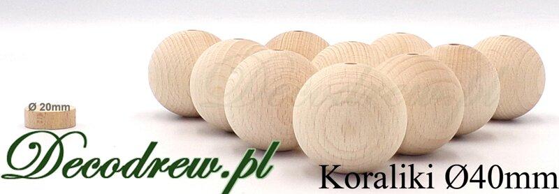 kulki drewniane surowe producent