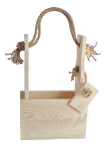 Drewniane nosidęłko